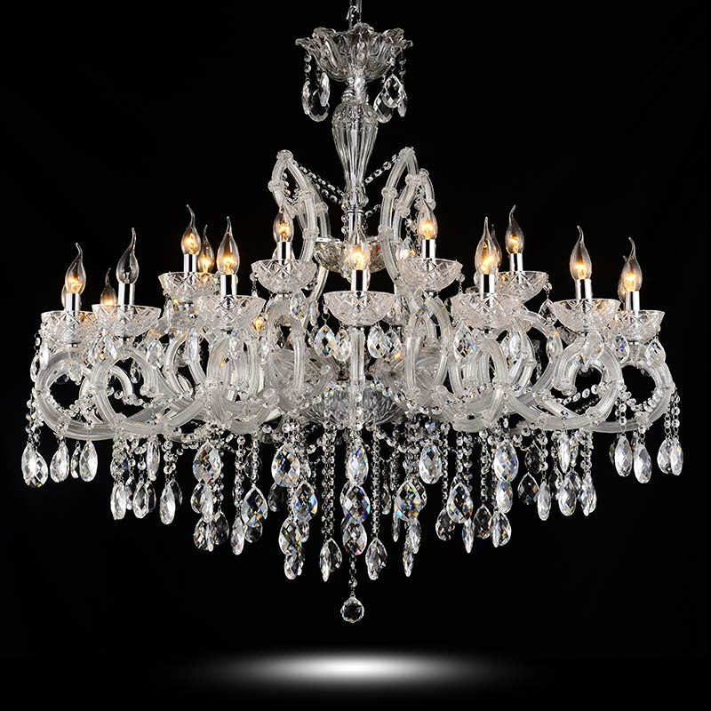 Crystal Chandelier Adele - 8 light chandelier with classic crystal.