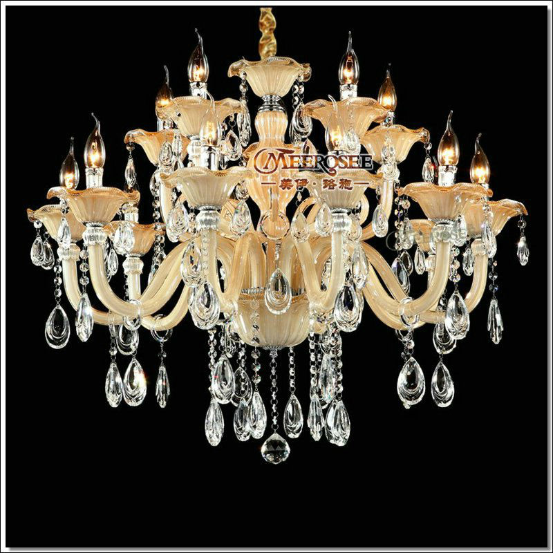 European flower crystal chandelier light lampshades large glass european flower crystal chandelier light lampshades large glass chandelier luster lamp with 15 lights for living room md88009 chandeliers glass chandeliers aloadofball Gallery